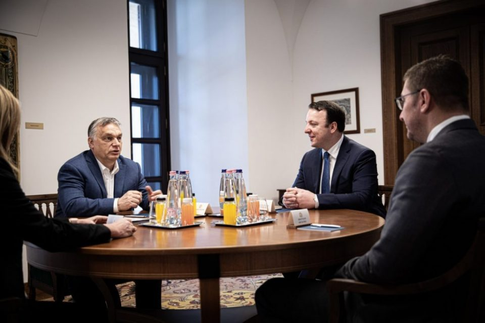 Mickoski on meetings with Orban and Jansa: Either we will suffocate in mutual accusations or we will seek support