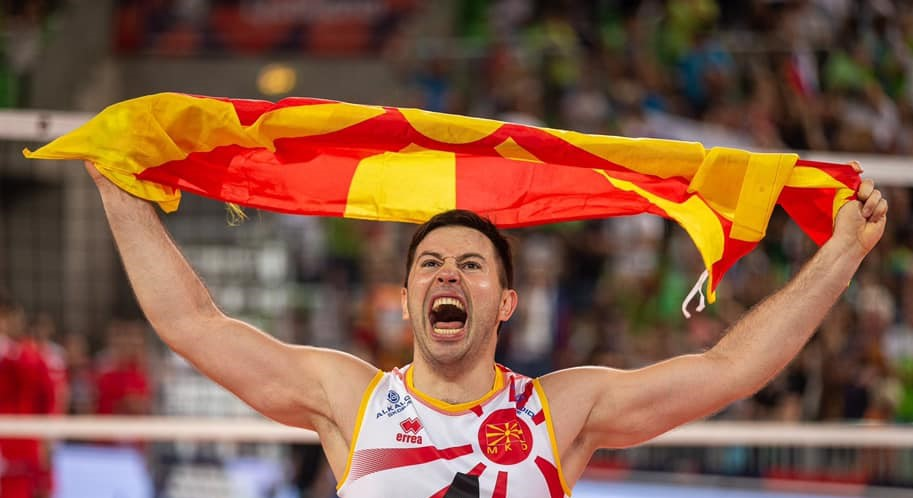 Macedonia goes to the European volleyball championship