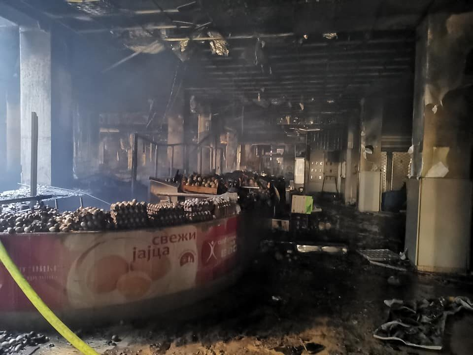 Zaev on the Global mall blaze: The hydrants were operational but the water main had burst since before the fire
