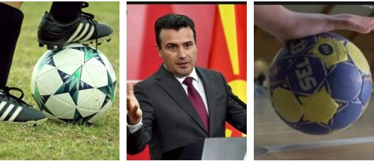After his attack on the football federation, Zaev sets his sights on the handball federation