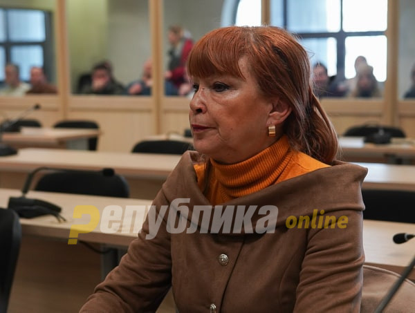 Ruskoska: We requested arrest after receiving indications for Mijalkov's escape