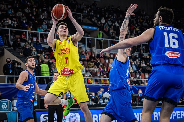 Basketball: Italy beats Macedonia in the Euro 2022 qualifier