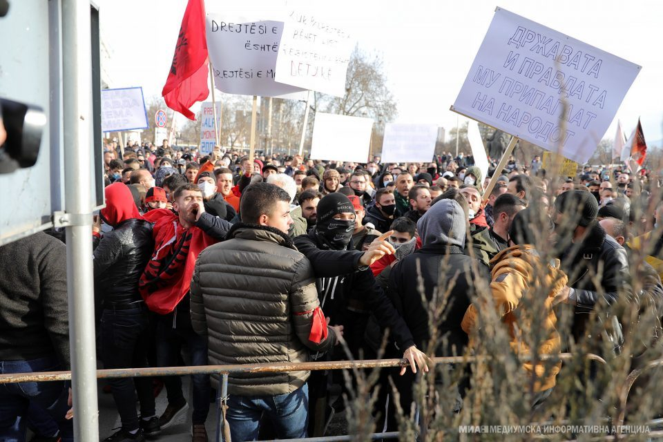 """Special isolation for Zaev, Pendarovski and several ministers during Friday's protest over the """"Monster"""" case"""