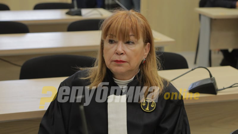 Ruskovska: It is a mitigating circumstance that Mijalkov reported himself, we will consider whether to request prison detention
