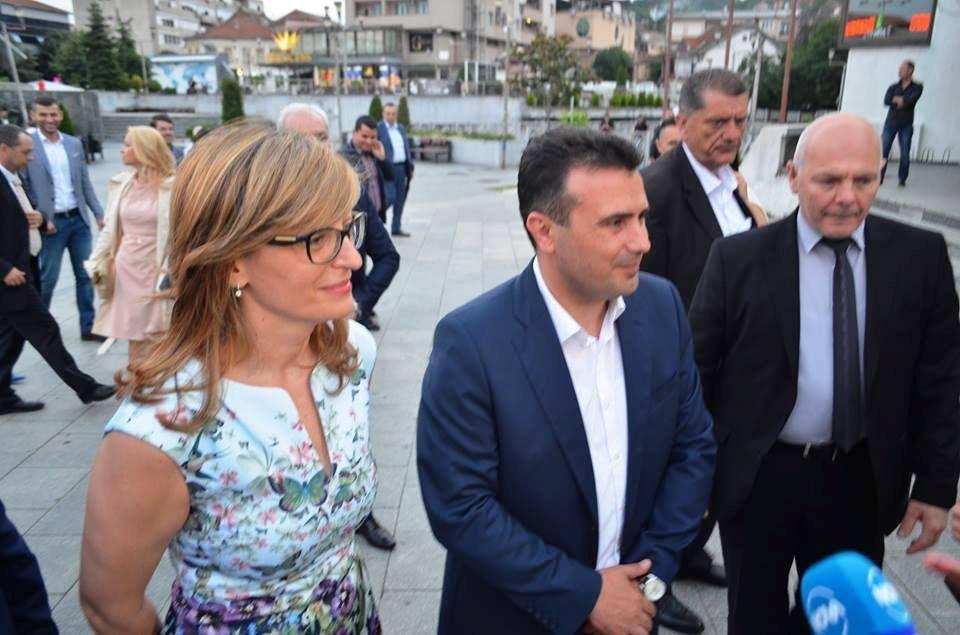 Zaev rejects Zaharieva's claim that parties in Macedonia are spreading hatred toward Bulgaria