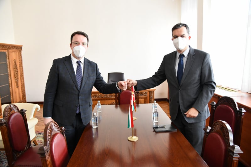 Nikoloski met with Hungarian Ambassador Dux