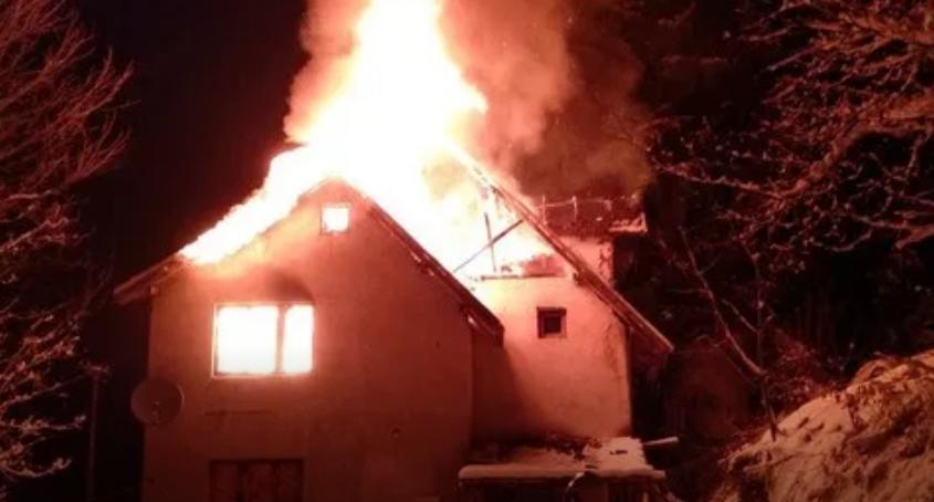 Elderly woman died in a fire near Tetovo