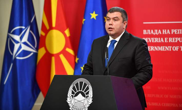 VMRO-DPMNE member of Parliament alleges that Justice Minister Maricic was denied NATO security clearance