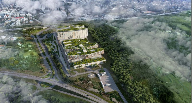 A world-class super hospital is to be built in Budapest