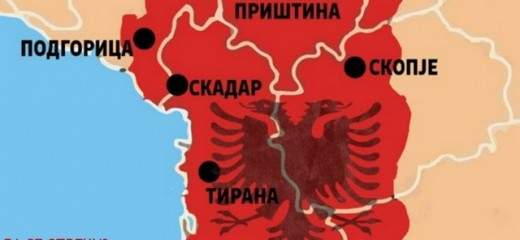 Silegov to name streets in Skopje after the creators of Greater Albania