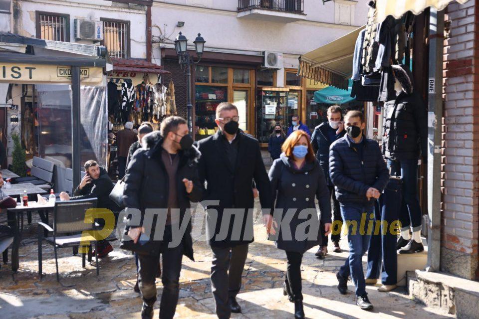 Mickoski will meet shop-keepers in Skopje's farmers' market