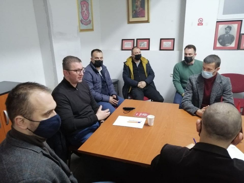 Mickoski in Kocani: Justice will win when Zaev falls, the Macedonian spring is coming!