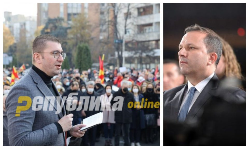 I will defeat the whole criminal coalition, and then the prosecution will not serve detention orders, but the court, Mickoski responds to Spasovski