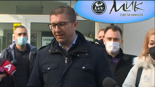 Mickoski in Sveti Nikole: Macedonia is a country with the poorest people and the richest Prime Minister