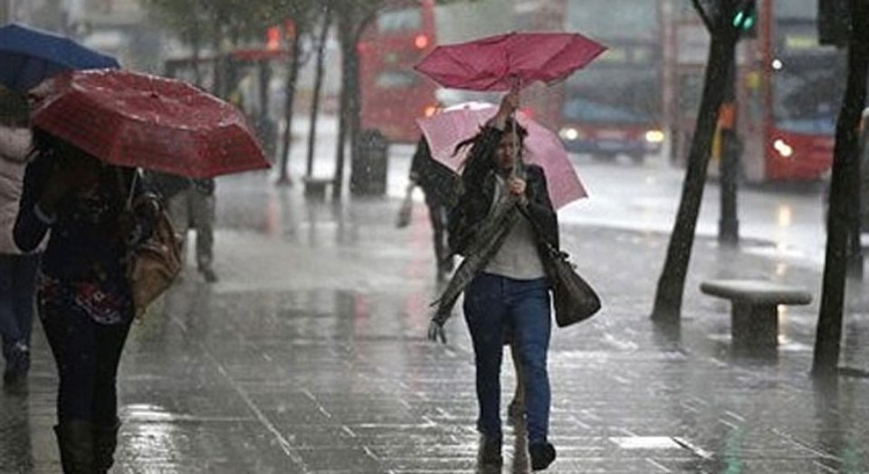 Major storm expected today, serious drop in temperatures over the weekend