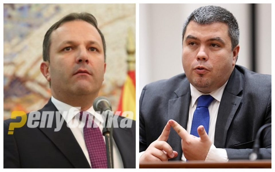 Ministers Spasovski and Maricic denied NATO clearance because of corruption and cooperation with foreign intelligence services?