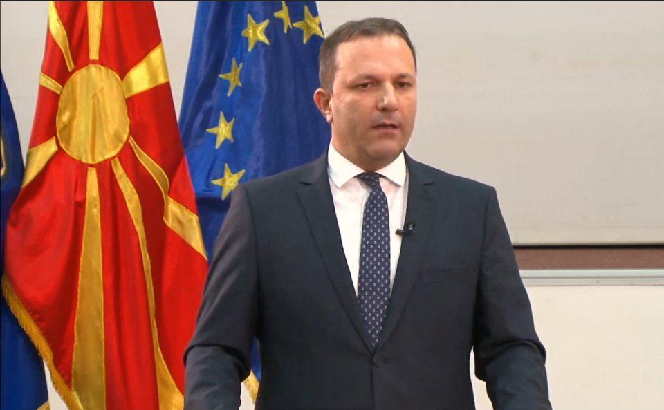 Interior Minister Spasovski refuses to resign