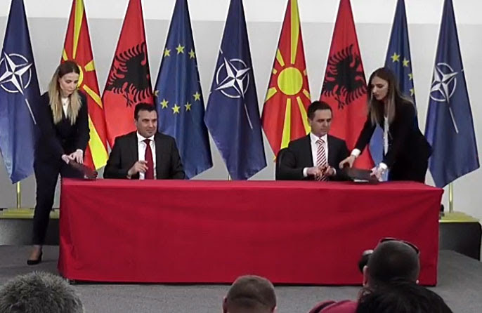 BESA angry at Zaev over the reduction of funding for Albanian cultural events