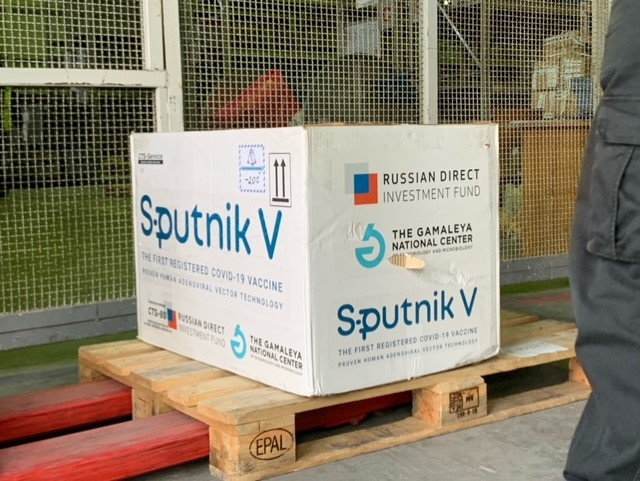Albania receives the first Pfizer vaccines, and Republika Srpska got a shipment of Sputnik V
