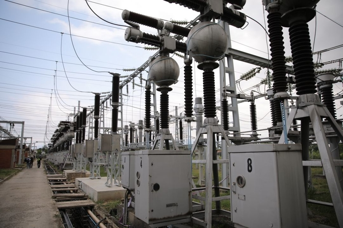 More than half of the electricity consumed in December came from domestic production