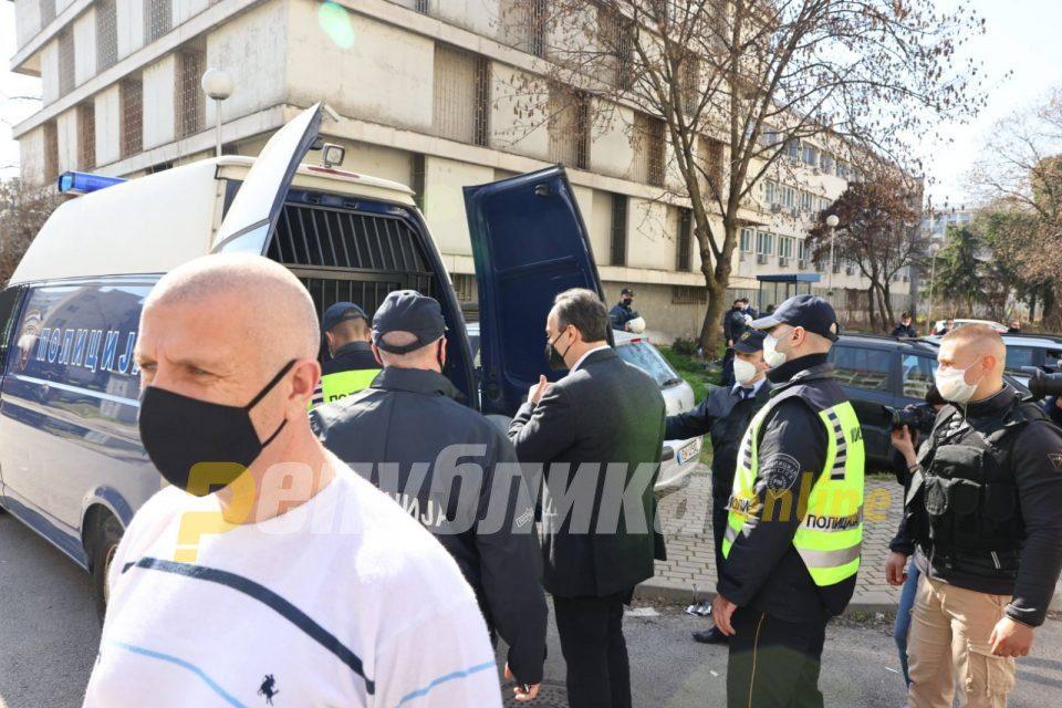 Mijalkov escorted into prison