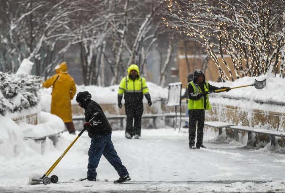 US winter storm brings freezing temperatures, power outages