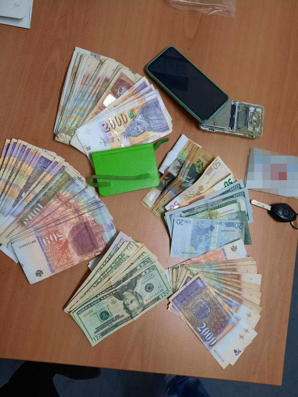 Three vehicles and money from drug sales seized in police operation in Prilep