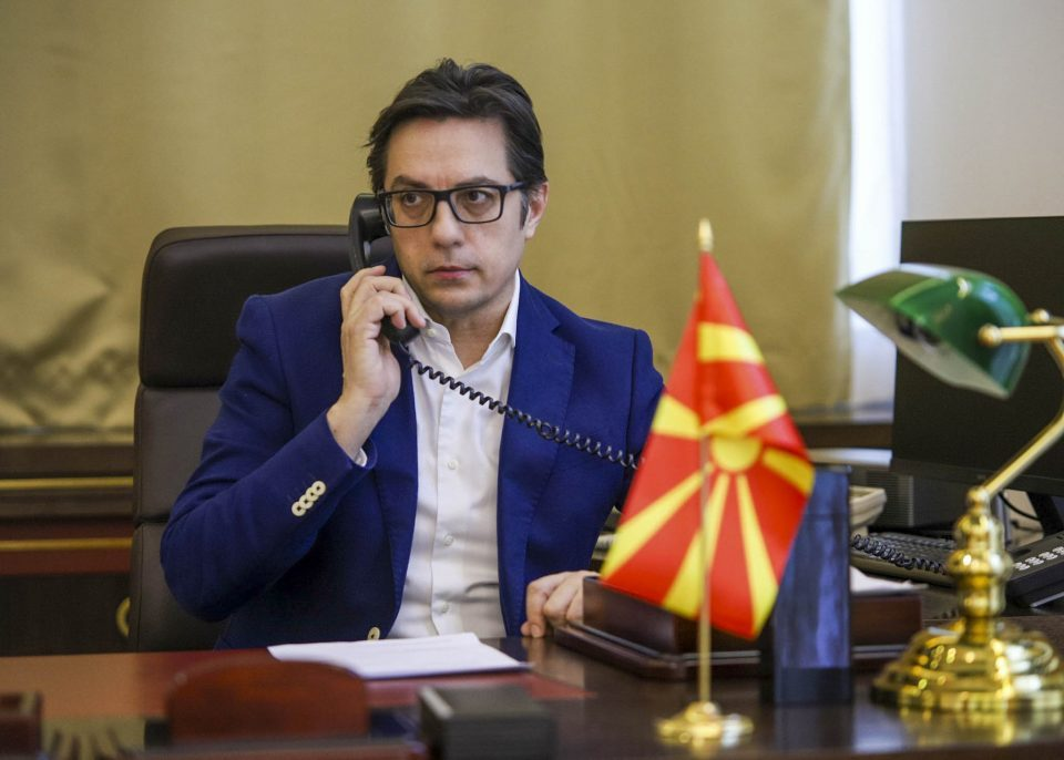 Pendarovski condemns Karakacanov's use of a map of Greater Bulgaria