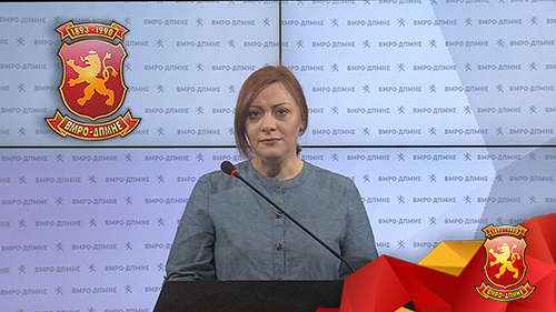 Dimitrieska: Companies linked to Zaev will profit from the planned privatization of the Customs Office