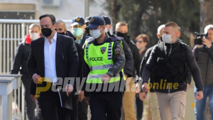 Skopje Appeals Court orders Saso Mijalkov to remain in detention