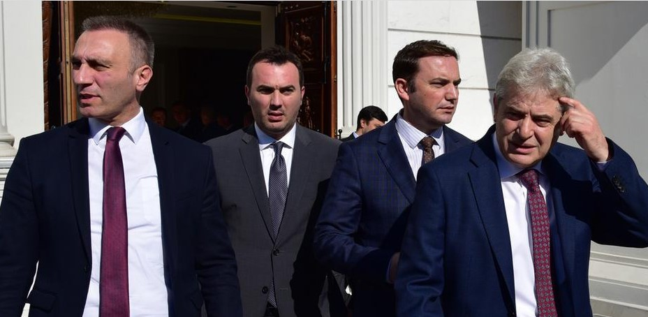 Albanian members of the Macedonian Government are exclusively advancing Albanian national interests