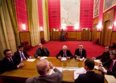 Grubi goes to Albania to push for greater registration of Albanians in the census