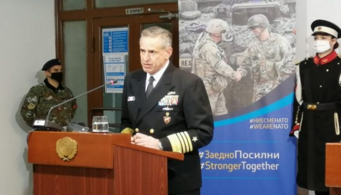 Admiral Burke: NATO looking at different options to facilitate vaccine procurement process