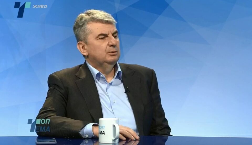 Rafajlovski: Economy is sinking, it's time for expert government