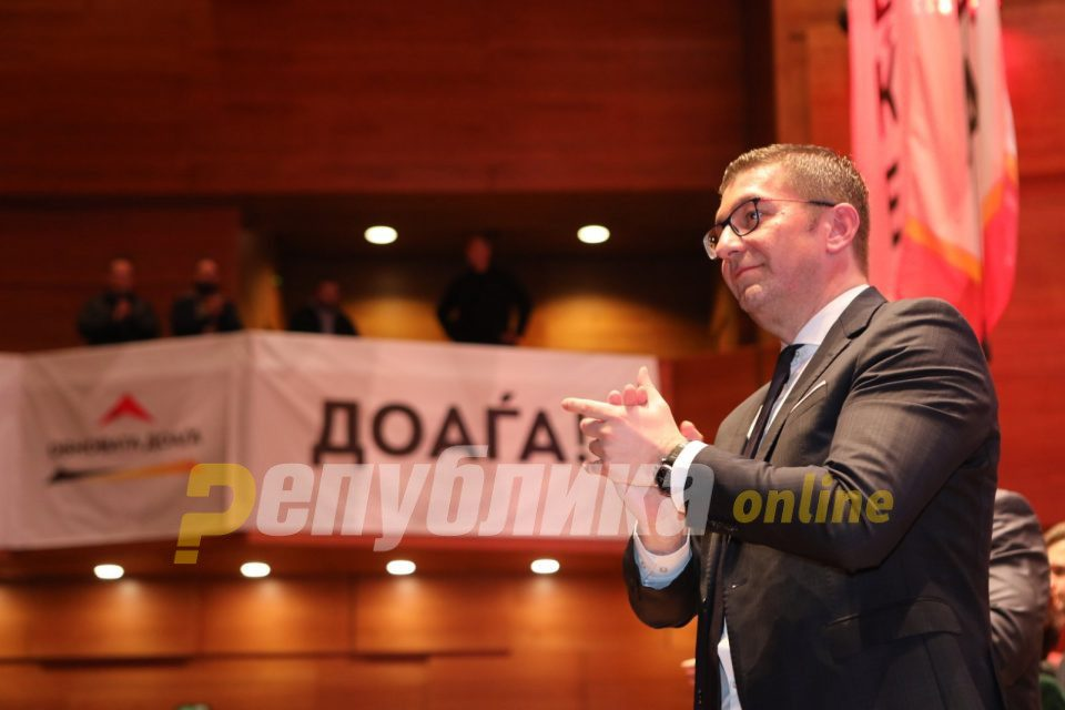 Mickoski in February: It's important to form a technical government that will prepare the ground for fair elections