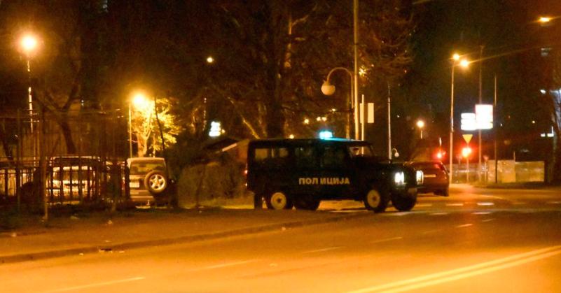 Raid against a drug gang in Skopje