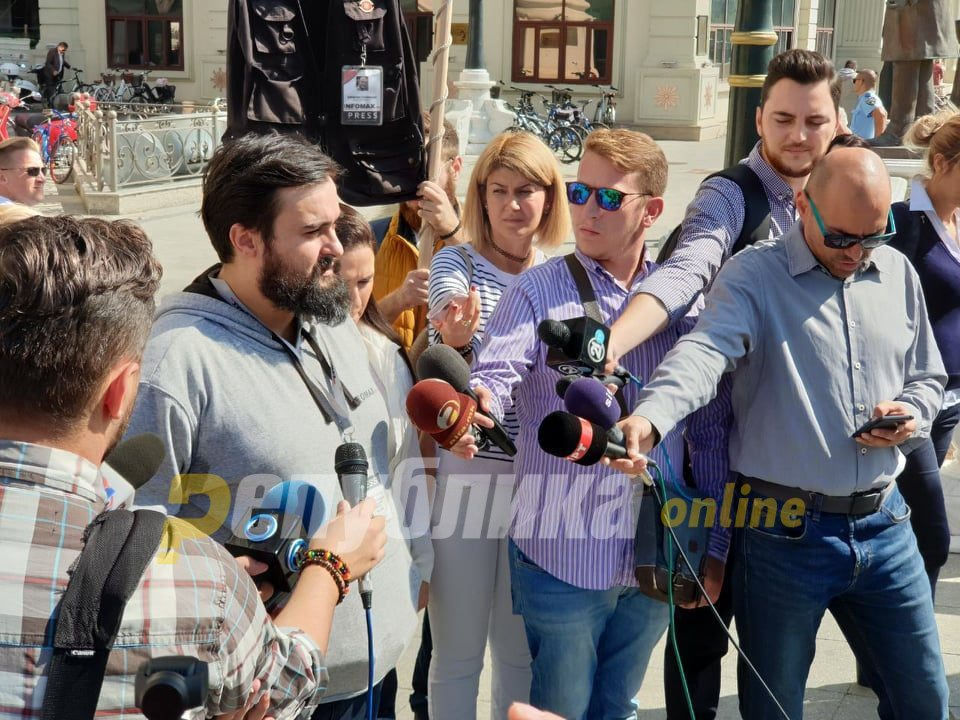 State Department human rights report notes the persecution of journalists critical of the Zaev regime
