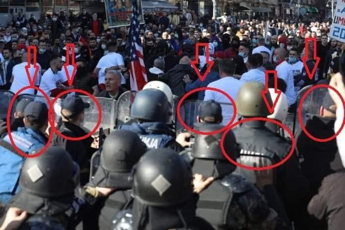 """Young police officers were sent to the violent protest over the """"Monster"""" case without adequate protective equipment"""