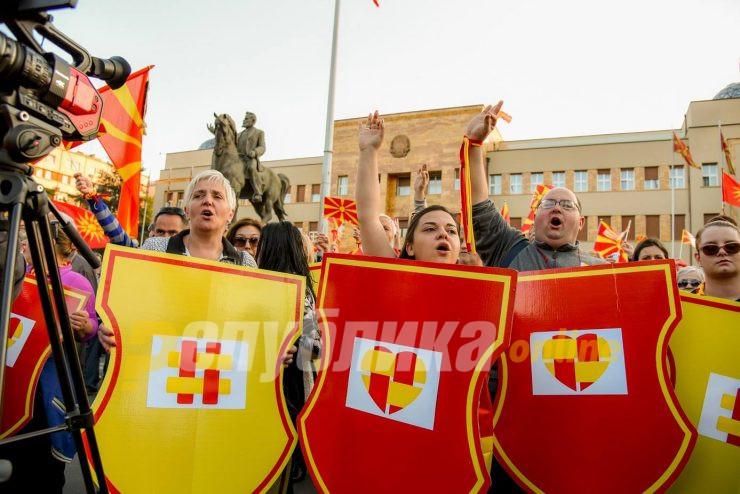 Latinovski: Janakieski and Ristovski did not contact me regarding the April 27 protests