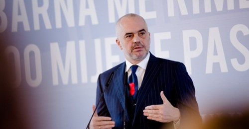 Edi Rama says that Albania will have to wait for Macedonia in the EU accession process