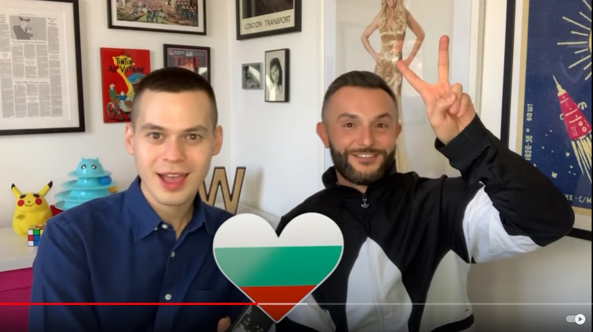 After announcing he will remove the Bulgarian flag from his video, Macedonia's Eurovision contestant Garvanliev confirms he also has Bulgarian citizenship