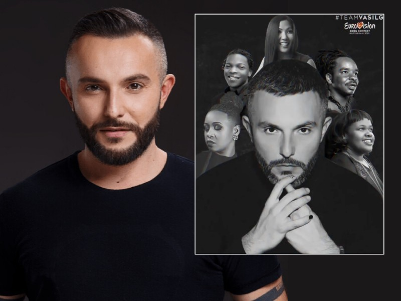 """Macedonia's representative Vasil Garvanliev releases his Eurovision 2021 entry """"Here I Stand"""""""