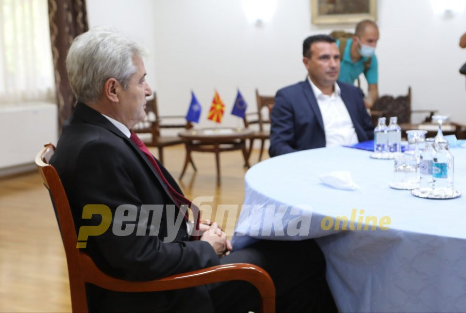 """Ahmeti announces that a deal with Bulgaria is """"not far"""""""