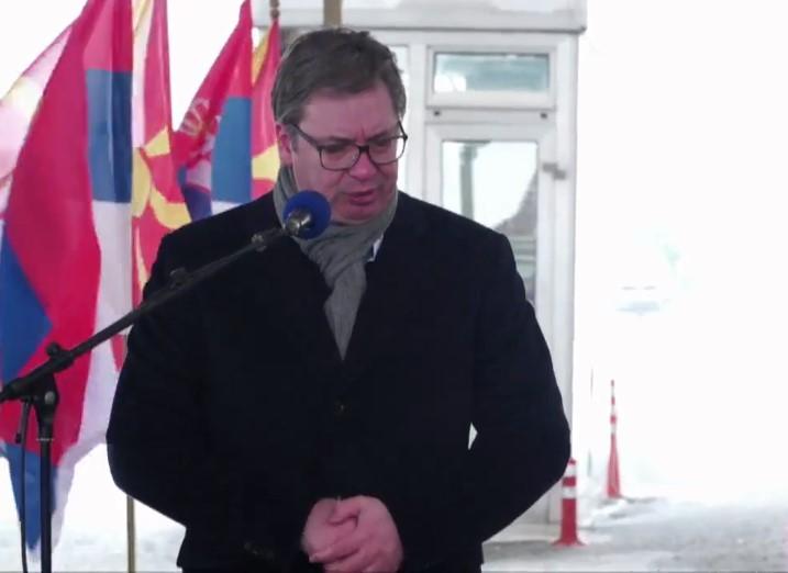 Serbian President Vučić delivers vaccine donation to Bosnia and Herzegovina