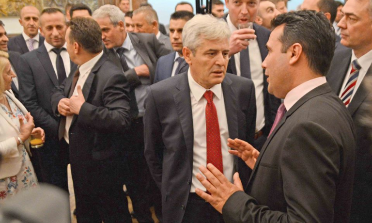 Ahmeti says that he is involved in advanced talks with Zaev to change the Macedonian flag, anthem and the coat of arms