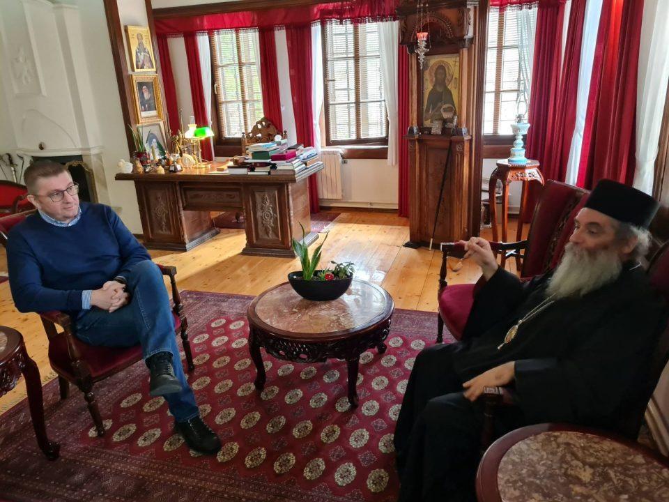 Mickoski visits Bigorski Monastery