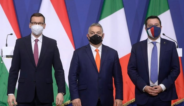 Orbán, Morawiecki and Salvini form new right-wing European alliance