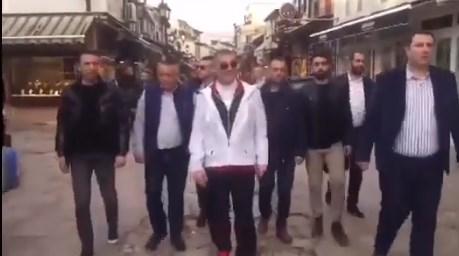 VIDEO: Turkish mobster Peker filmed with an SDSM member of Parliament