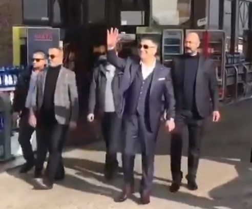Mobster Sedat Peker acted as a visiting head of state while he was in Macedonia