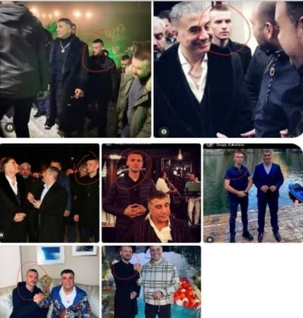Peker was given police escort during his stay in Macedonia
